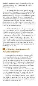 ¿CÓMO UTILIZO LA CORTE DE RECLAMOS MENORES? - Page 5