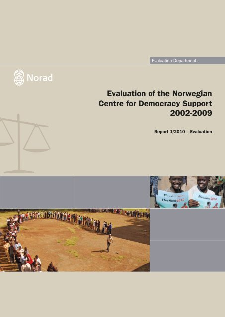 Evaluation of the Norwegian Centre for Democracy Support 2002 ...