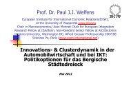 Vortragsfolien Prof. Welfens - EIIW