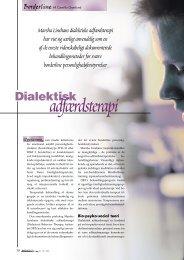 Dialektisk adfærdsterapi - Elbo