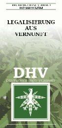 DHV - Legalisierung aus Vernunft - des Deutschen Hanf Verband