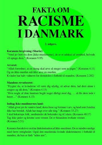 Racisme i Danmark - Islaminfo.dk