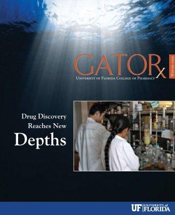 Depths - College of Pharmacy - University of Florida