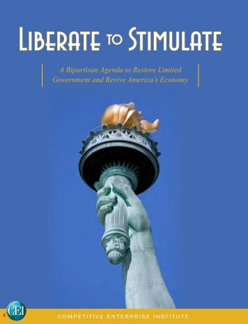 Liberate to Stimulate - Competitive Enterprise Institute