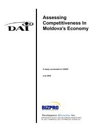 Assessing Competitiveness In Moldova's Economy - Economic Growth
