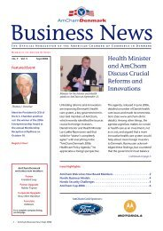 AmCham News No.38 #3 - American Chamber of Commerce in ...
