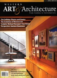 Tim Solliday Featured in Western Art & Architecture Magazine April ...