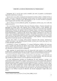 PERCHÉ LA SCIENZA POLITICIZZATA È PERICOLOSA ... - GESN