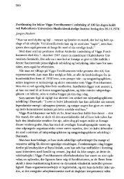 280 Forelæsning for lektor Viggo Forchhammer i anledning af 100 ...
