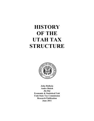 an introduction to the history of taxes Taxes in the united states: history, fairness, and current political issues global development and environment institute  i introduction.