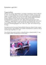 Nyhedsbrev april 2011 Vuggestuebørn