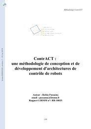 ContrACT: une méthodologie de conception et de développement d ...