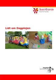 Lidt om Dagplejen - Dagpleje - Ikast-Brande Kommune