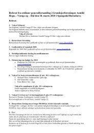 Referat fra ordinær generalforsamling i ... - GF Asmild