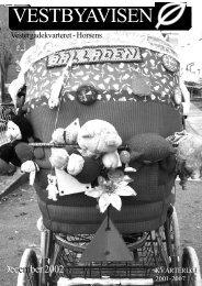 Vestbyavisen November 2002 - Vestbyens Beboerhus - Horsens ...