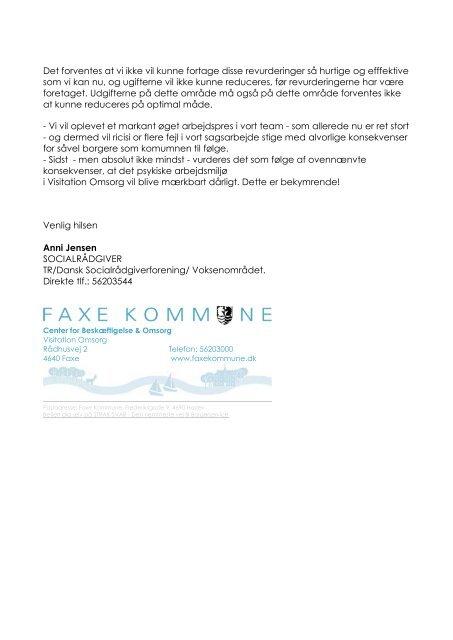 samlet - Faxe Kommune