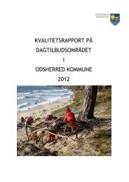 Kvalitetsrapport på dagtilbudsområdeti Odsherred kommune 2012.pdf