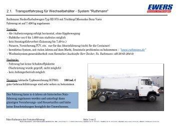 Paket Ruthmann.xlsx - Ewers Karosserie