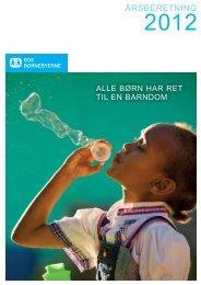 Årsberetning 2012 - SOS Børnebyerne
