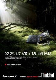 GO ON, TRY AND STEAL THE DATA. - Lenovo | US