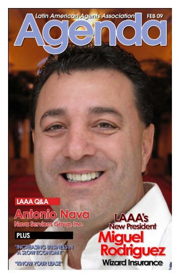 Feb 2009 Newsletter.pub - Latin American Agents Association