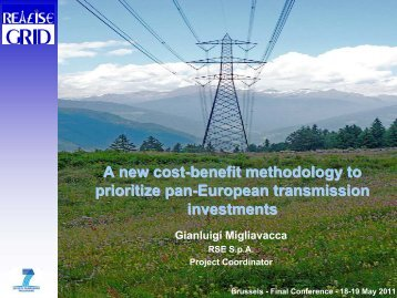 A new cost-benefit methodology to prioritize pan-European ...