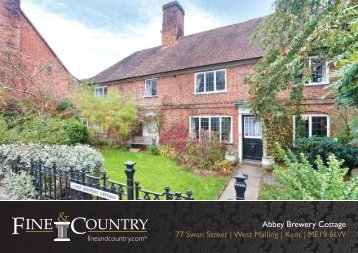 Abbey Brewery Cottage 77 Swan Street | West ... - Fine & Country