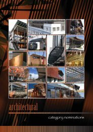 Architectural - Southern African Institute of Steel Construction