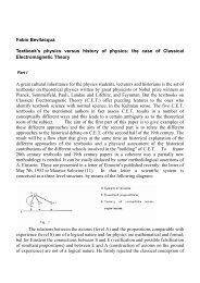 Fabio Bevilacqua Textbook's physics versus history of physics: the ...