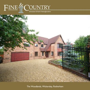 The Woodlands, Wickersley, Rotherham - Fine & Country