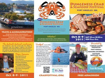 Get Crackin'! - Dungeness Crab & Seafood Festival