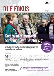 foreningslivet betaler sig - Dansk Ungdoms Fællesråd