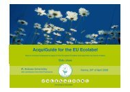 companies - EU Ecolabel Marketing for Products