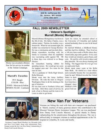 Edith nourse rogers memorial veterans hospital new van for veterans missouri veterans commission sciox Gallery