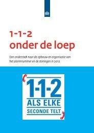 1-1-2 onder de loep - Agentschap Telecom