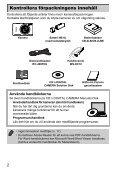 Användarhandbok för kameran - Page 2