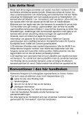 Användarhandbok för kameran - Page 3