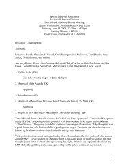 Presiding: Cris Kinghorn - Business & Finance Division - Special ...