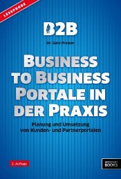 Business to Business Portale in der Praxis