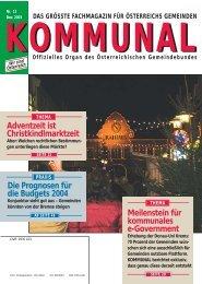 Adventzeit ist Christkindlmarktzeit - Kommunal