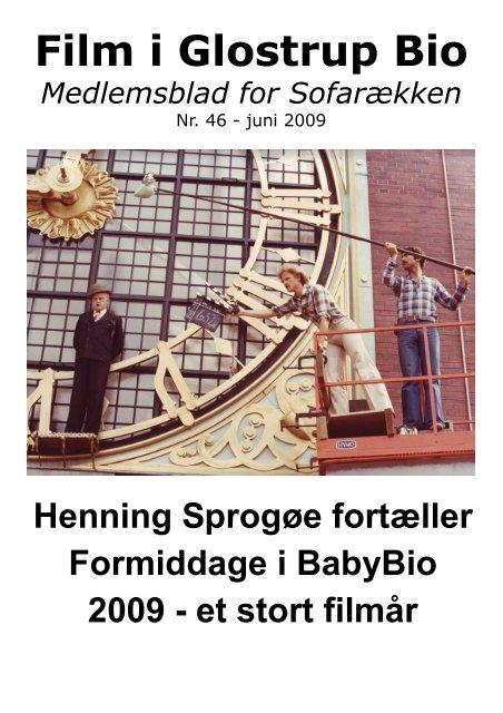 Henning Sprogøe fortæller. / Formiddage i Baby Bio. - Glostrup Bio