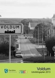 Udviklingsplanen for Voldum - Favrskov Kommune