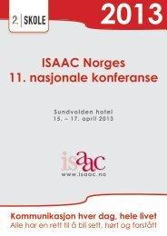ISAAC Norges 11. nasjonale konferanse