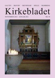 Kirkebladet for november 10-januar 2011 - Skivholme Kirke