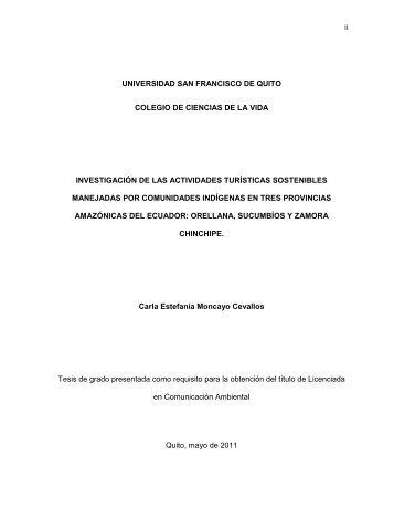 Repositorio Digital USFQ - Universidad San Francisco de Quito
