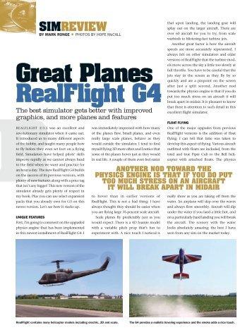 Realflight Magazines