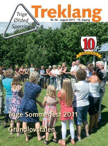 Trige Sommerfest 2011 Grundlovstalen - Trige-Ølsted fællesråd