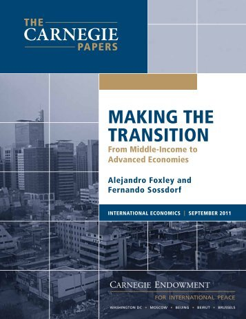 Making the Transition: From Middle-Income to Advanced Economies