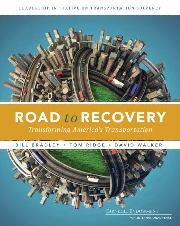 (PDF): Road to Recovery: Transforming America's Transportation