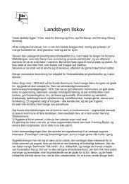 Erindringer om Landsbyen Ilskov af Anny Andersen - Velkommen til ...